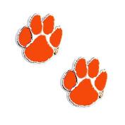 NCAA Clemson Tigers Post Stud Earring Charm Gift Set