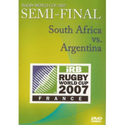 Rugby World Cup 2007 Semi Final DVD South Africa vs Argentina