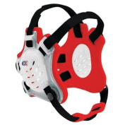 Cliff keen Tornado Headgear Translucent Scarlet Black