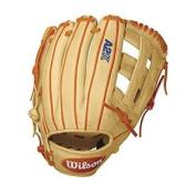 Wilson A2K DW5 David Wright Infield Baseball Glove, Blonde/Orange/White, Right Hand Throw, 30cm