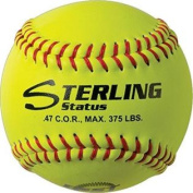 Sterling Game Leather 30cm Fastpitch Softball, .47 C.O.R., 170kg. Compression
