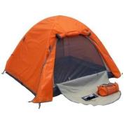 Genji Sports Aluminium Frames Light Weight Camping Tent, Orange