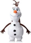 Disney Big Girls' Olaf Frozen Plush Backpack