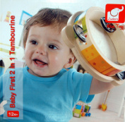 Baby First 2 in 1 Tambourine