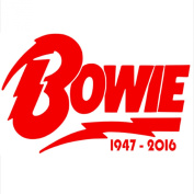 1 x David Bowie Design 4950cm - 5120cm RED-Ziggy Stardust-Car,Van,Campervan Cut Vinyl WINDOW Sticker-Decal Sign-RIP Novelty Car Sticker Decal-Great Present Gift-Universal Fit