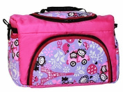 TP-49 nappy bag shopper Travel bag PIA from baby joy XXXL oversize pink lilac comic Nappy Changing Bag Baby Bag Ttote Bag