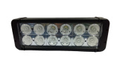 Focus of work - Barra CREE LED 120w and 27.9 cm long, and 9000 lumens for tractors, trucks, boats, waterproof