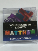 Your Name In Lights- Matthew