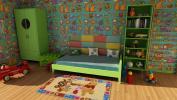 ING-15210-Carpet Original Brand DISNEY For Children (140x80 Cm) (Galleria farah1970) #