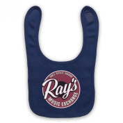 Blues Brothers Ray's Music Exchange Baby Bib, Navy Blue