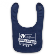 Ballers Anderson Financial Management Baby Bib, Navy Blue