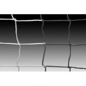 Kwik Goal Soccer Net 8x24x6x6 3MM BLK/WHT