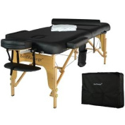 BestMassage Premium All Inclusive Complete Portable Massage Table Package