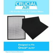 Replacement Filter Kit Designed to fit Oreck OptiMax® Air 95 Includes