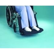 Foot Friend Cushion wBlack Polycotton Fabric - L 46cm x H 28cm x W 20cm