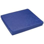Navy Rip-Stop Fabric Cover For 41cm X 46cm X 5.1cm Cushion - L 41cm x H 7.6cm x W 41cm