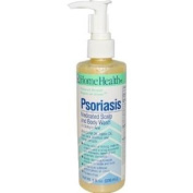 Home Health Psoriasis Medicated Scalp and Body Wash, 240ml