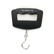 50kg/10g LCD Digital Fish Hanging Luggage Weight Electronic Hook Scale Portable