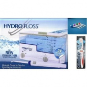 Hydro Floss New Generation Oral Irrigator Bundle with FREE Pocket Pals and NEW Glisten Toothbrush