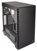 Corsair Carbide Clear 400C Compact Mid-Tower Case (No PSU)  - Clean, modern lines with an all steel