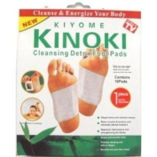 FIVE Boxes of 10 Cleansing Detox Foot Pads Patches (50) KINOKI *As Seen On TV