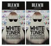 (2 PACK) Bleach London White Toner Kit