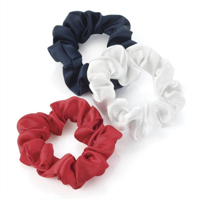 GIZZY® Girls / Ladies Set of 3 Mini Elastic Scrunchies