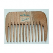KostKamm Wood, Hair comb 10cm extra gob, 1 Piece