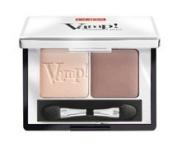 PUPA Milano Vamp! Compact Eyeshadow Duo, Milk Chocolate 2.2 g