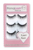 PrimaLash 5 Pairs False Eyelashes #JASMINE