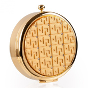 Round Pill Boxes (Gold)