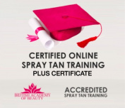 ACCREDITED ON-LINE SPRAY TAN TRAINING WITH CERTIFICATE! SHOULD BE £99!