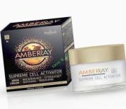 AMBERRAY SUPREME CELL ACTIVATOR stimulating rebuilding night cream 25+, Farmona