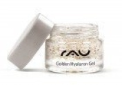 RAU Golden Hyaluron Gel 5 ml Exclusive Anti-Ageing Moisturiser Face Serum - with 23 Carat Gold and Hyaluronic Acid - Luxurious Anti-Wrinkle Treatment