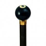 8-Ball Handle - Black Stain