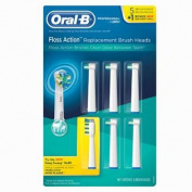 Oral-B Replacement Brush Heads - Floss Action - 6 ct.