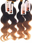 tissage-extension - 1 Natural Brazilian Weave Tie and Dye Wavy Grade 6 A