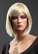 Forever Young BOB STYLE Blonde Blend Short Lady Wig
