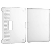 Insten Anti-Scratch Clear Snap-On Case for Apple MacBook Air 33cm