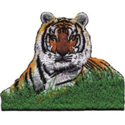 Patch Animals Tiger in Grass p-3960