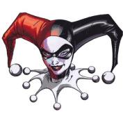 Large Patch DC Comics Harley Quinn Headshot p-dc-0116-x