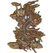 Patch Animals Brown Dragon p-3509