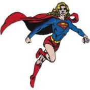 Patch DC Comic Superman Supergirl Run Iron On p-dc-0020