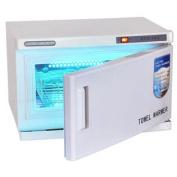 16L UV Heated Towel Warmer Cabinet Spa Steriliser