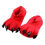 Lovely Dinosaur Claw Indoor Slippers Warm Cosy Fashion Slipper Best Baby Gift G