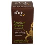 plnt American Ginseng 60 Amount Uom Vegetarian Capsules