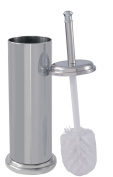 Toilet Brush with Canister Chrome Finish