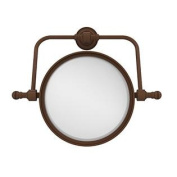 Allied Brass 20cm Swivel Mirror 5x Mag Antique Bronze