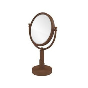 Allied Brass TR-4/3X-ABZ Table Mirror with 3X Magnification, Antique Bronze