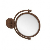 Allied Brass 20cm Mirror 4x Mag Extends 18cm Antique Bronze